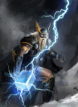 Thor: Norse God of Thunder and Lightning