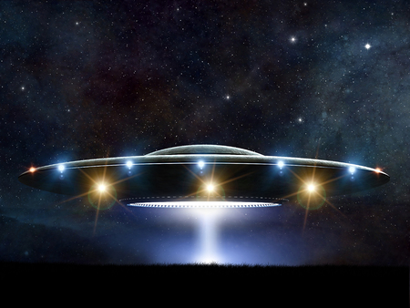 Ashtar Command Spaceship